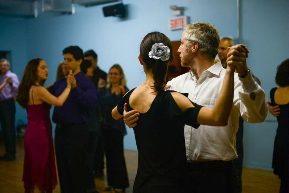 Group Tango Class by Sasha Lee
